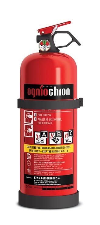 Огнетушитель Ogniochron GP-2X ABC Fire Extinguisher 2kg