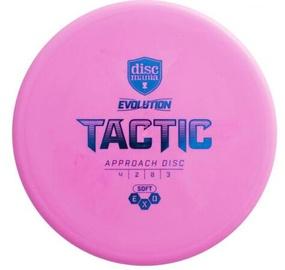 Lidojošais šķīvis Discmania Exo Tactic Soft 4/2/0/3 Pink