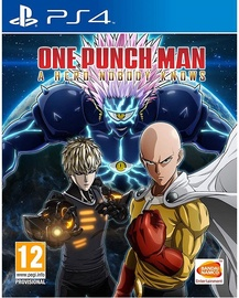 Žaidimas One Punch Man: A Hero Nobody Knows PS4