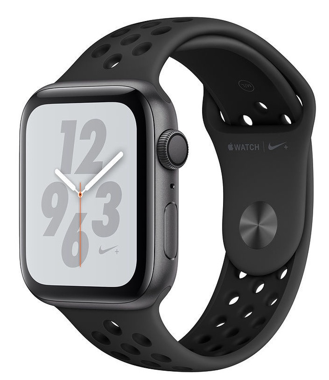Apple Watch Series 4 44mm GPS NIKE+ Space Gray Aluminum Case with Anthracite/Black Band