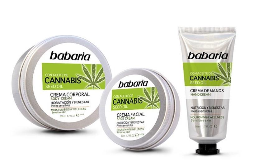 Rankų kremas Babaria Cannabis, 50 ml