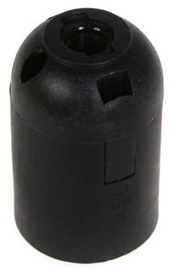 Reml Bulb Socket E27 Smooth Black