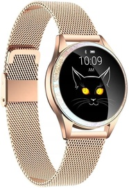 Oromed Oro-Smart Crystal Gold Smartwatch