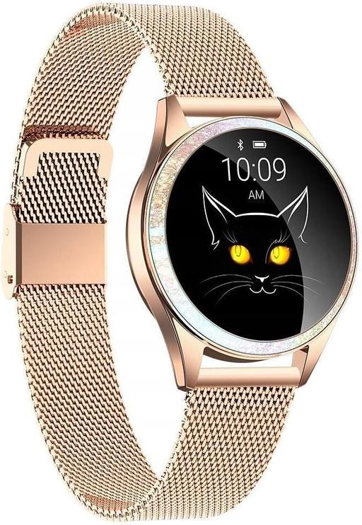 Išmanusis laikrodis Oromed Oro-Smart Crystal Gold, aukso