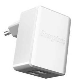 Energizer Ultimate Dual USB Wall Charger 4.8A White