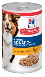 Hill's Science Plan Mature Adult Wet Food w/ Chicken 370g
