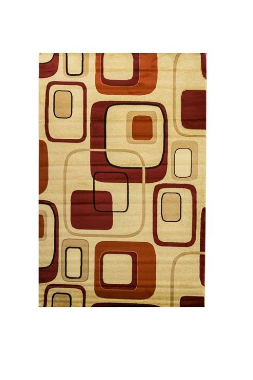 Ковер Post Hali Post A171846A H0254, красный/желтый/кремовый/многоцветный, 300 см x 200 см