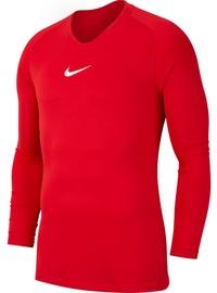 Футболка с длинными рукавами Nike Dry Park First Layer LS AV2609 010, красный, L