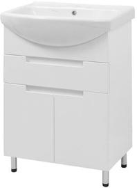 Vento Kvatro & Izeo 60 820x348x570mm White