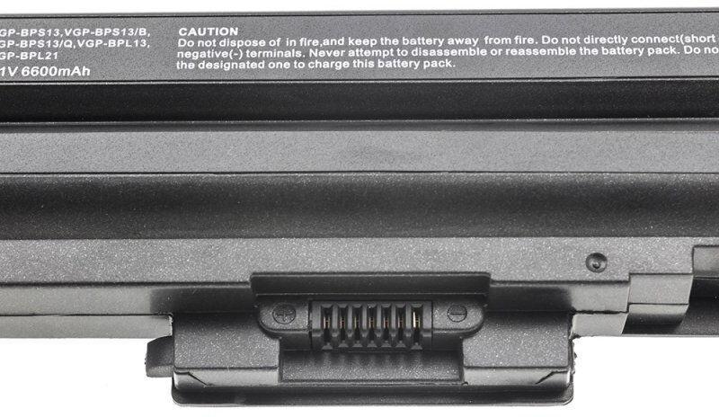 Аккумулятор для ноутбука Green Cell Laptop Battery For Sony VAIO 6600mAh
