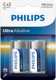 Philips Ultra Alkaline C 2x