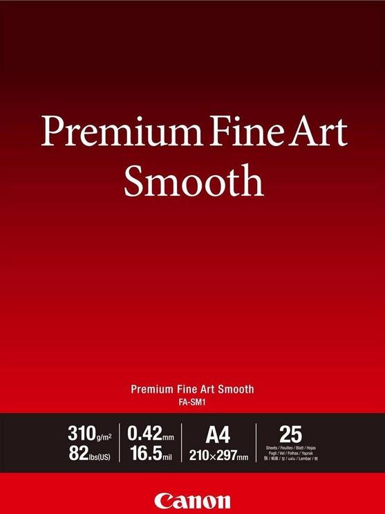 Canon Premium Fine Art Smooth FA-SM1 A4 25pcs
