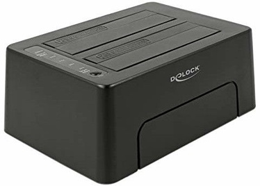 Delock USB Type-C 3.1 Docking Station For 2xSATA HDD/SSD w/Clone Function