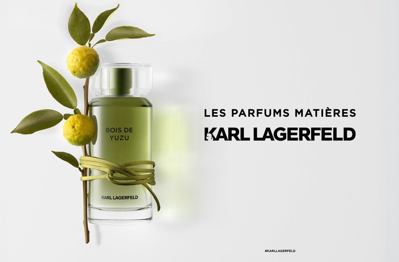 Tualetes ūdens Karl Lagerfeld Bois De Yuzu 100ml EDT