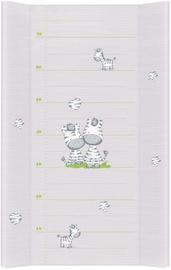 Vystymo lenta Ceba Baby Grey Zebra, 70x50 cm