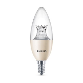 SPULDZE LED B40 8W E14 WW CL WGD 806LM (PHILIPS)