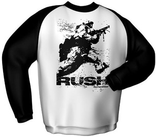 GamersWear Rush Sweater White/Black M