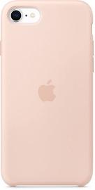 Apple iPhone SE Sillicon Case Pink Sand