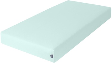 Ceba Baby Jersey Fitted Sheet Mint