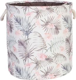 Home4you Tropic 3 D32xH32cm Brown Leaves 83603