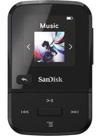 Музыкальный проигрыватель Sandisk Sport Go Black, 16 ГБ