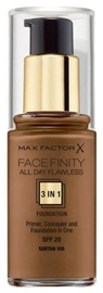 Max Factor Face Finity All Day Flawless 3in1 Foundation 30ml 100