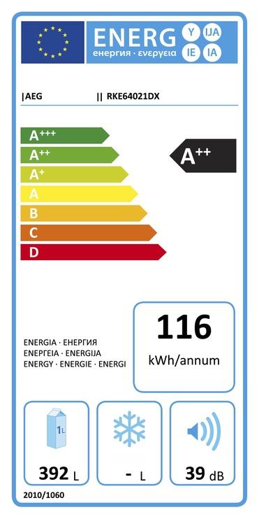 Šaldytuvas AEG RKE64021DX