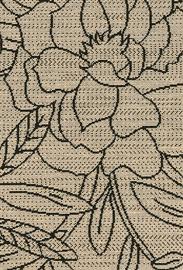 Paklājs Domoletti Origin 9H58, dzeltena/smilškrāsas, 150x80 cm