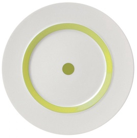 "ViceVersa Dessert Plate ""The Dot"" 23cm Green"
