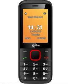 Mobilusis telefonas ESTAR X24, raudonas