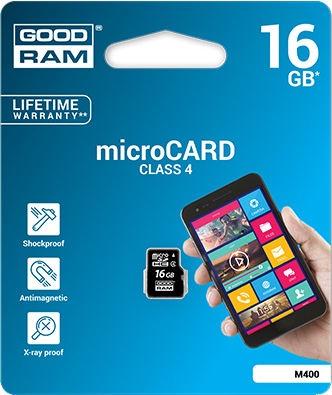 GoodRam M400 16GB microSDHC Class 4