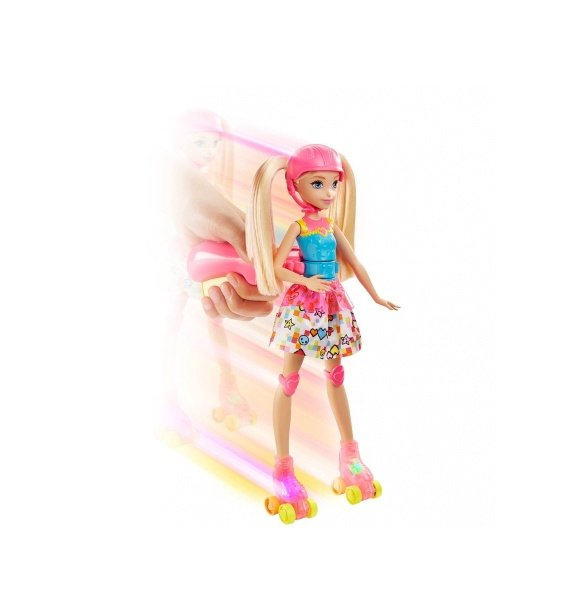 Barbie™ Video Game Hero rulluisutaja nuk