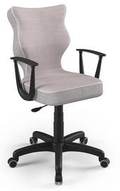 Детский стул Entelo Norm CR08, черный/розовый, 400 мм x 1045 мм