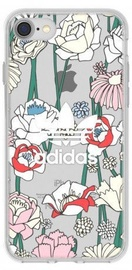 Adidas Clear Case For Apple iPhone 6/6s/7/8 Flowers