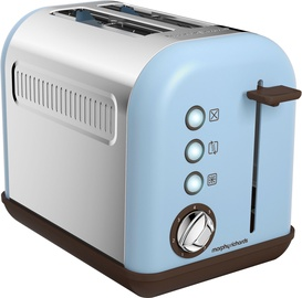 Morphy Richards Special Edition Accents Azure 2 Slice Toaster 222003