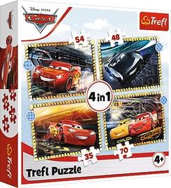 Пазл Trefl CARS 4in1 34608, 207 шт.