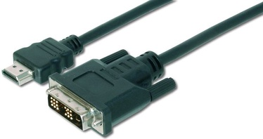 Assmann Cable HDMI / DVI-D Black 3m