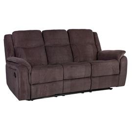 Home4you Sofa Norman 3 Brown 21515