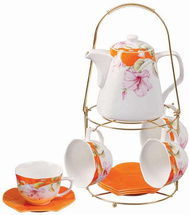 Mayer & Boch Tea Set Orange 24739