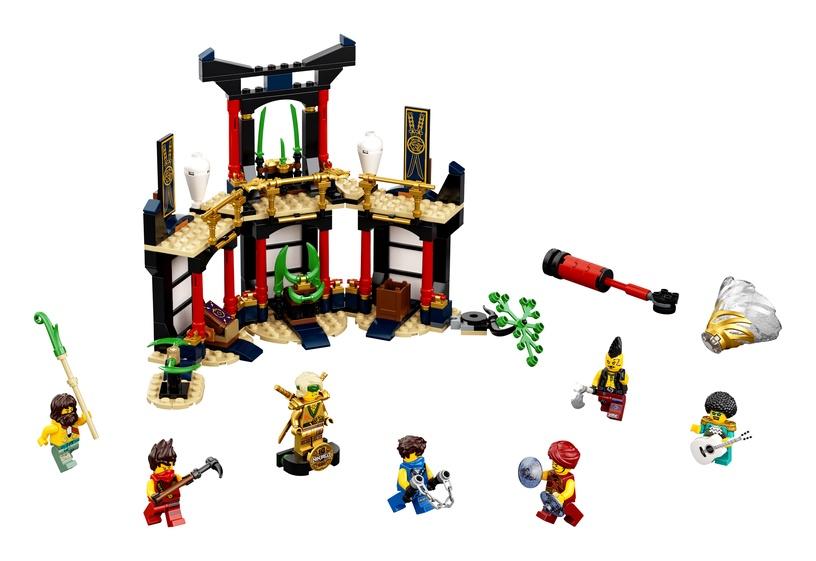 Конструктор LEGO Ninjago Турнир стихий 71735, 283 шт.