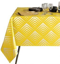 Скатерть AmeliaHome Piramides, желтый, 1800 мм x 1400 мм