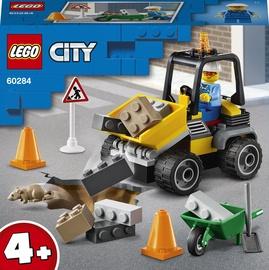 Конструктор LEGO City Автомобиль для дорожных работ 60284, 58 шт.
