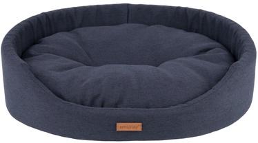 Лежанка Amiplay Montana Oval Bedding S 46x38x13cm Black