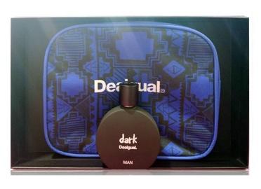 Набор для мужчин Desigual Dark 100 ml EDT + Blue Cosmetic Bag