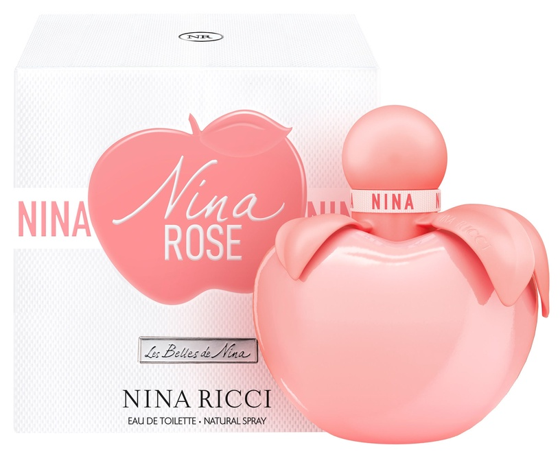 Tualettvesi Nina Ricci Nina Rose 50ml EDT