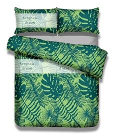 Gultas veļas komplekts AmeliaHome Averi Rain Forest, daudzkrāsains, 200x220/80x80 cm