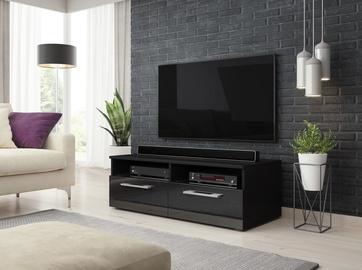 TV staliukas Vivaldi Meble Bonn, juodas, 1000x460x350 mm