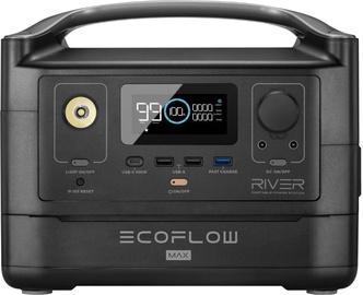 Зарядное устройство - аккумулятор EcoFlow River Max 1ECOR603, черный