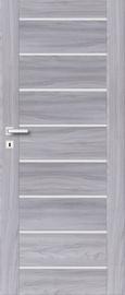 Полотно межкомнатной двери PerfectDoor MIRA 01, серый, 203.5 см x 74.4 см x 4 см