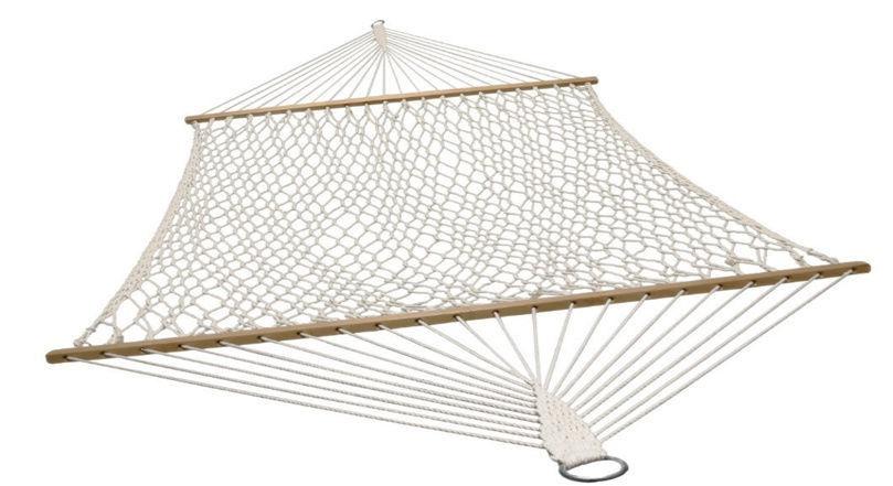 Besk Hammock w/ Cotton Ropes 200x150cm